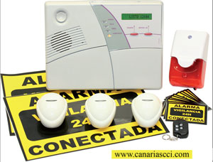 ALARMA POWERMAX 433 VIA RADIO (KIT BASICO)