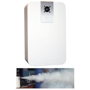 Maquina de humo antirrobo