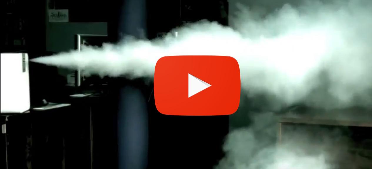Video: Maquina de humo antirrobo