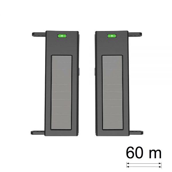 Barrera perimetral con alimentación solar 2 haces 60 m