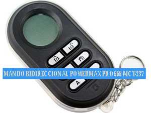 CONTROL REMOTO BIDIRECCIONAL POWERMAX PRO 868 MCT-2
