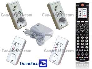 1110712 Kit domótica X10 con 6 módulos y Software