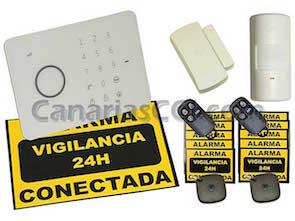 Sistema de alarma Aurora con videosupervisión IP y grabación