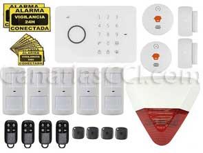 1111139 Kit ampliado alarma GSM inalámbrica Aurora Touch G5