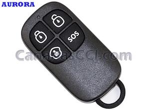 1111156 Llavero mando a distancia con botón SOS para alarma Aurora G5