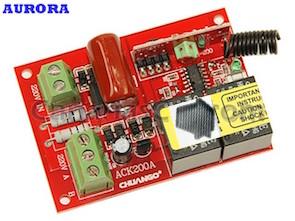 1111210 Relé interruptor de 2 canales inalámbrico para alarmas Aurora