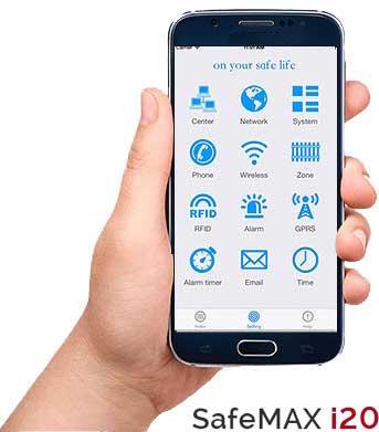 1111301 Smartphone CMS alarma Safemaxi20