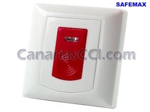 1111345 Botón de emergencia SOS sin cables SAFEMAX