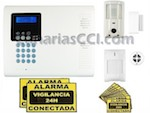 Sistema de alarma inalámbrica con videoverificación SUPERSURE V3, grado 2