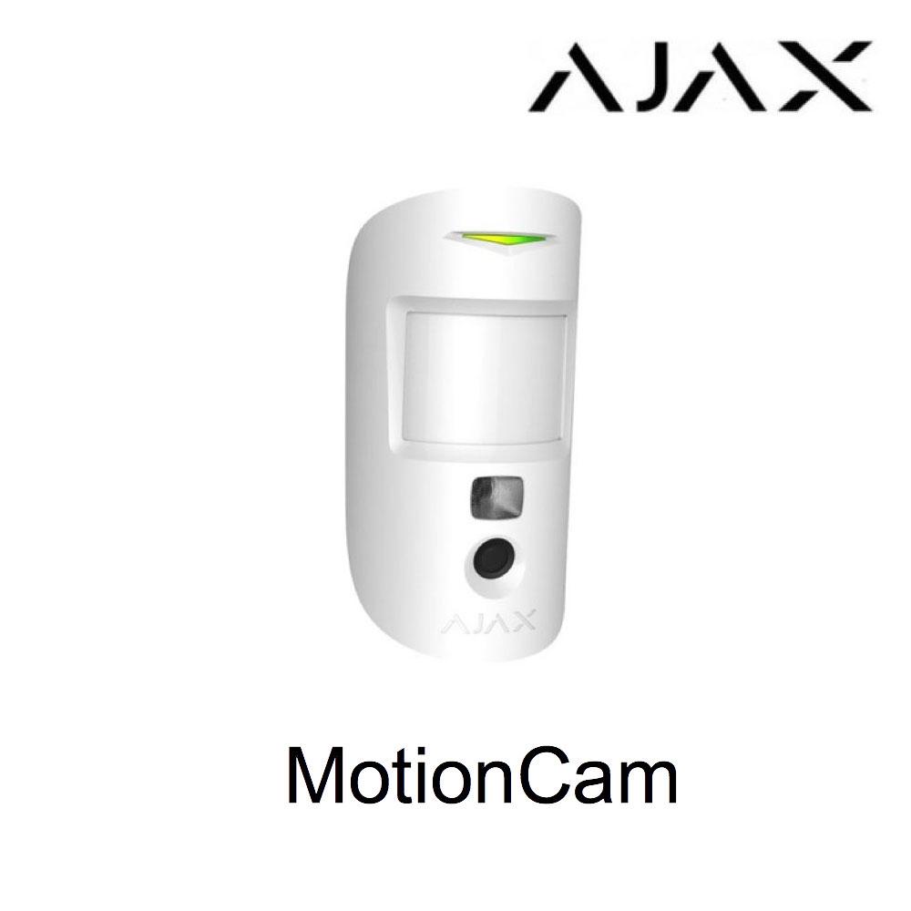 Ajax MotionCam, detector con cámara