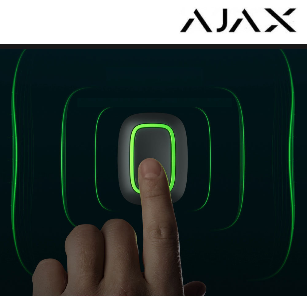 Botón de emergencias Ajax Button ondas