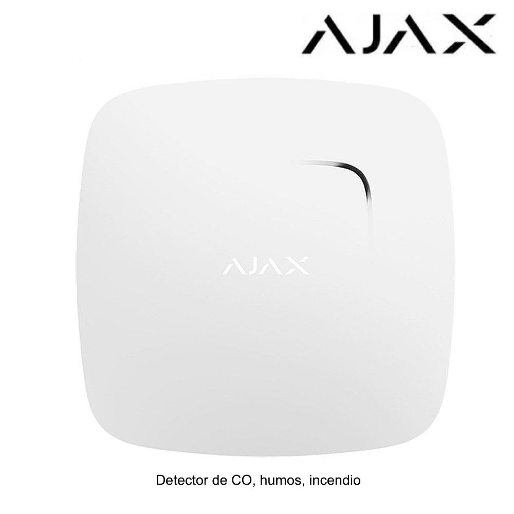 Sensor de incendios, humos y CO Ajax FireProtect Plus