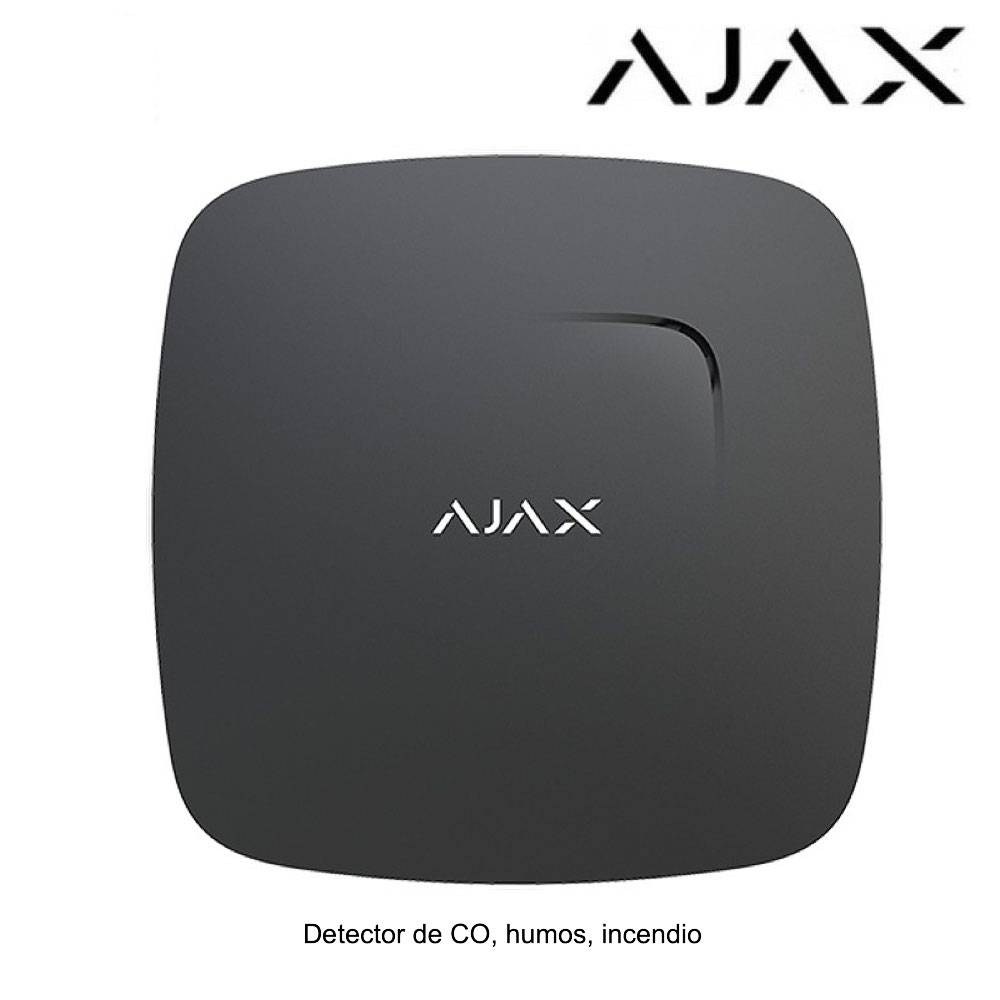 Detector de humos, incendios y CO Ajax FireProtect Plus