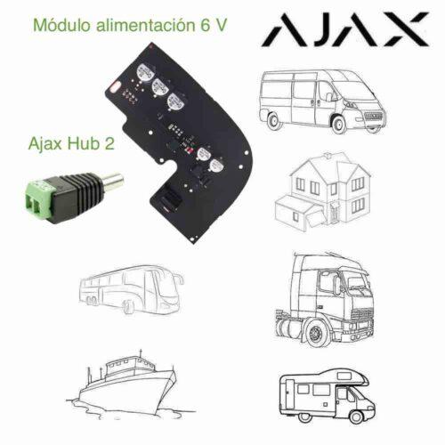 Módulo de alimentación 6 V para Ajax Hub 2