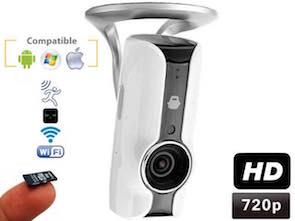 Cámara Aurora IP WiFi HD 720P con grabación en tarjeta SD 1120250
