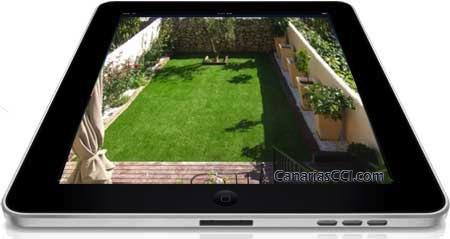Cámara de videovigilancia Full HD día + noche exterior 30 m
