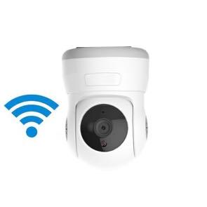 1120314 Cámara IP interior WiFi HD con movimiento motorizado, visión nocturna y grabación en tarjeta SD