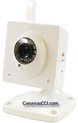 Cámara IP WiFi con visión nocturna y audio