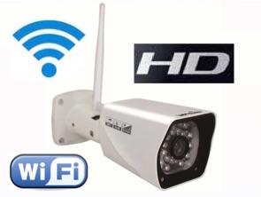 1120336 Cámara IP HD WiFi para exterior con Leds infrarrojos 20 m