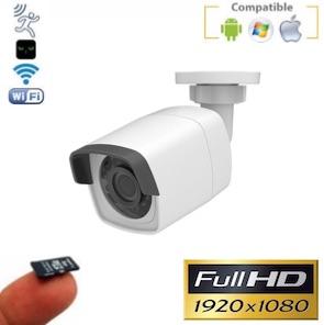 Cámara IP WiFi Full-HD con grabación en tarjeta SD IR 30 m