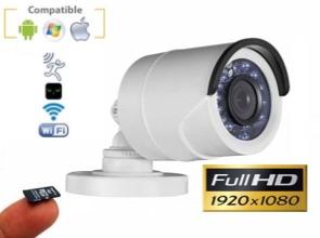 Cámara IP WiFi ext&int 1080P con visión nocturna y grabación