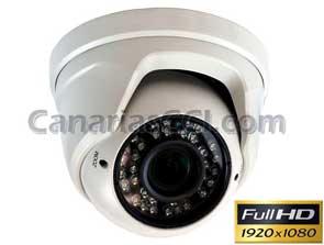 1120455 Cámara IP Full-HD ext&int con visión nocturna 40 metros lente varifocal 2,8 - 12 mm