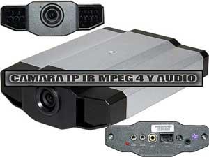 CAMARA IP CON INFRARROJOS MPEG4 Y AUDIO