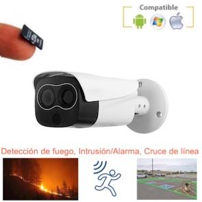 Cámara IP con detección de fuego y grabación 1120523