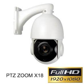 1120544 Cámara IP 1080P PTZ X18 con visión nocturna 120 m