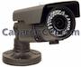 Cámara de vigilancia para exteriores 700 TVL varifocal y visión nocturna 60 m