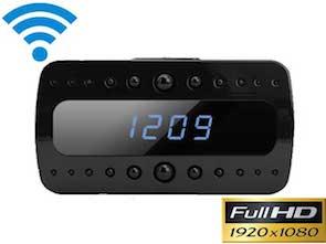 Cámara reloj digital espía IP WIFI FULL HD con grabación y Leds Infrarrojos