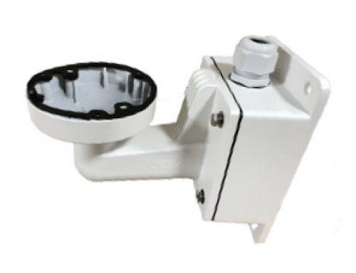 Soporte de sujeción de pared para cámaras domo con caja impermeable