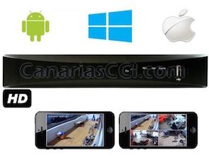 1132103 Grabador HD 1Tb para 4 cámaras