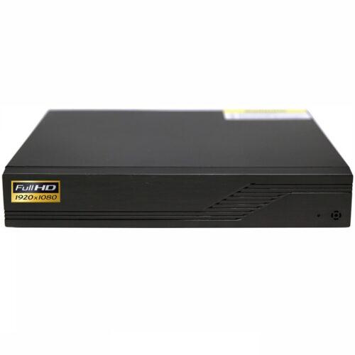 Grabador digital Full-HD 1080P videovigilancia IP H.264 para 4 cámaras