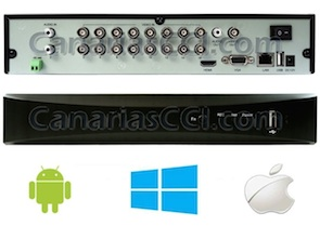1132302 Grabador digital 960H H.264 videovigilancia IP para 16 cámaras