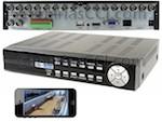 Vídeo grabador digital 960 H para 16 cámaras - videovigilancia por Internet