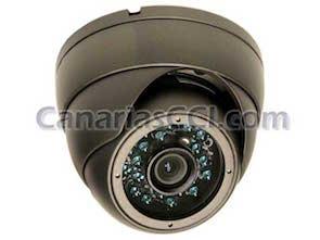 1133100 Cámara de seguridad con Leds infrarrojos para exteriores e interiores 1000 TVL