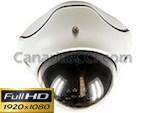 Cámara de seguridad domo 1000 TVL Full-HD con visión nocturna 15 m