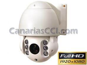1133600 Cámara domo 1080P Full-HD TVI motorizada PTZ exterior IR 50 m