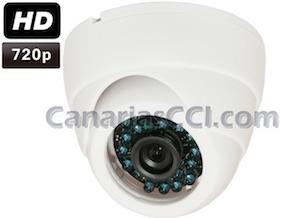 1133900 Cámara de videovigilancia HD 720P con visión nocturna 20 m