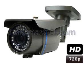 1133940 Cámara de vigilancia HD 720P varifocal para exteriores y visión nocturna 30 m