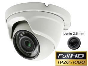 Cámara Full-HD 1080P domo lente 2,8 mm y Leds infrarrojos 20 m1134102
