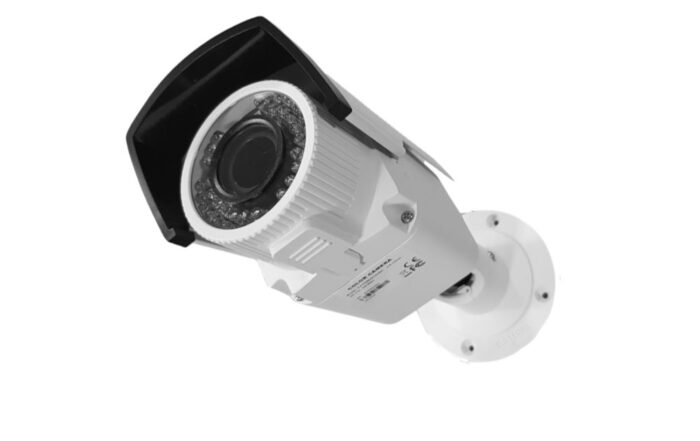 Cámara de vigilancia Full-HD exterior con infrarrojos 30 m y lente varifocal