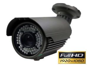 1134230 Cámara exterior Full-HD con lente varifocal 5- 50 mm y visión nocturna 60 m