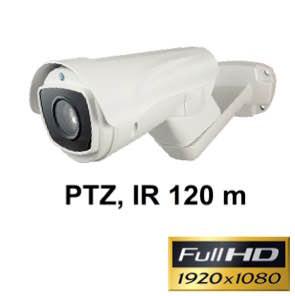 Cámara Full-HD IP66 PTZ motorizada con Leds infrarrojos 120 m Ref. 1134270
