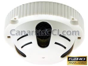 1134310 Cámara espía Full-HD 1080P oculta en detector de humos
