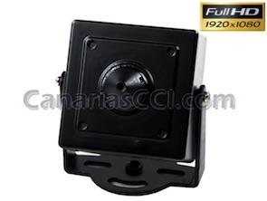 Cámara espía Full-HD 1080P Pinhole 0,001 Lux