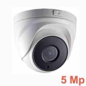 Cámara de seguridad domo UHD 5 Megapíxeles con Zoom motorizado y visión nocturna 30 m