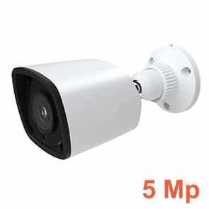 Cámara de vigilancia 5 Mp con Leds infrarrojos 20 m para exterior