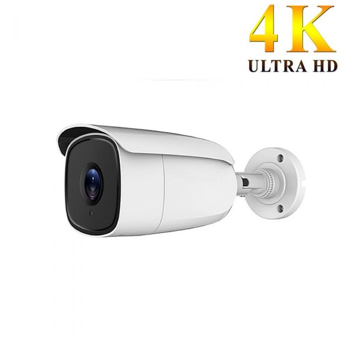 Cámara 4K UHD IP66 lente gran angular 2,8 mm